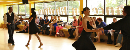 Dance in Rhythm in Branford, Connecticut teaches ballroom dance and can teach you the perfect dance for your wedding