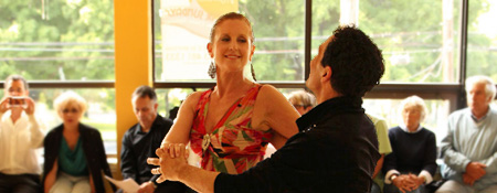 Dance in Rhythm in Branford Connecticut also has private lessons. Learn Waltz, Foxtrot, Cha-Cha, and much more.